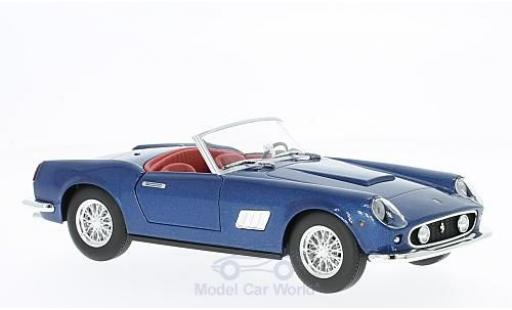 Ferrari 250 GT California 1/24 Bburago metallise bleue miniature