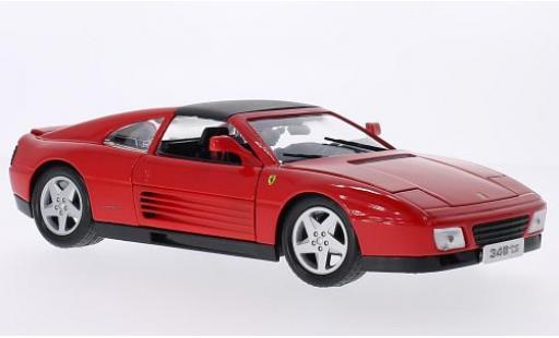Ferrari 348 1/18 Bburago ts rouge miniature