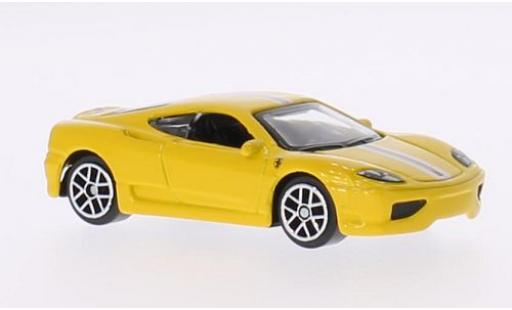 Ferrari 360 1/64 Bburago Challenge Stradale jaune miniature