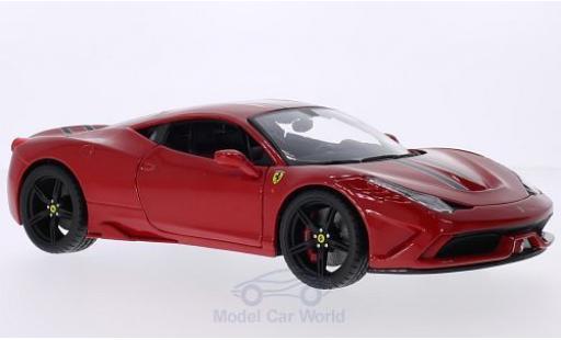 Ferrari 458 1/18 Bburago Speciale rouge/Dekor miniature