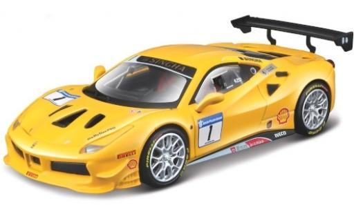 Ferrari 488 1/43 Bburago Challenge No.1 diecast model cars