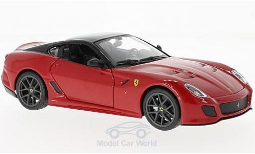 Ferrari 599 GTO 1/24 Bburago red/black diecast model cars