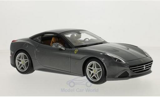 Ferrari California 1/18 Bburago T metallise grise/noire miniature