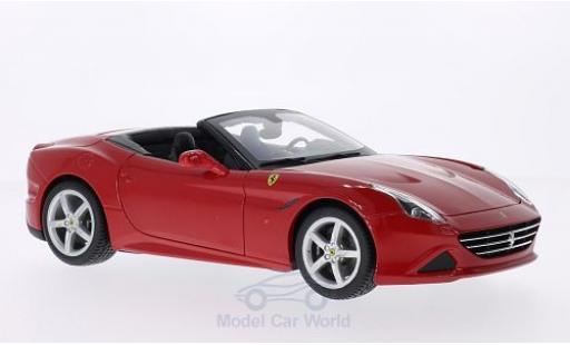 Ferrari California 1/18 Bburago T red 2014 offen diecast model cars