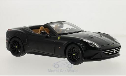 Ferrari California 1/18 Bburago T black diecast model cars