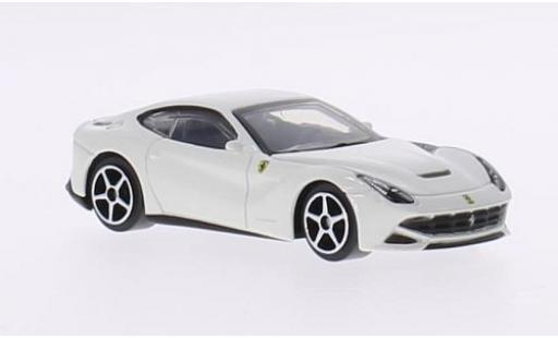 Ferrari F1 1/64 Bburago 2 Berlinetta white 2013 diecast model cars