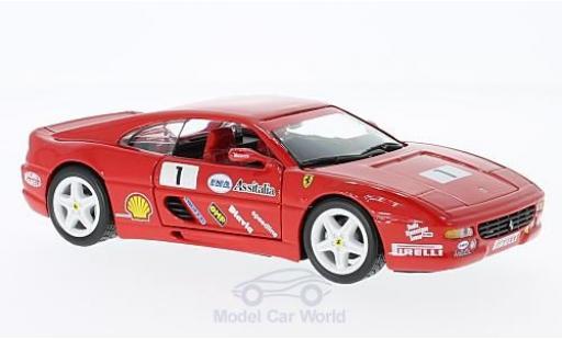 Ferrari F355 1/24 Bburago Challenge No.1 miniature