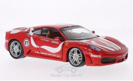 Ferrari F430 1/24 Bburago Fiorano rouge miniature