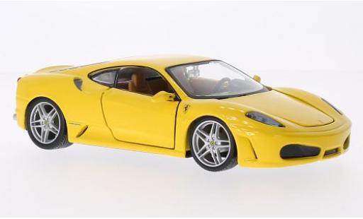 Ferrari F430 1/24 Bburago yellow diecast model cars