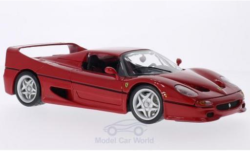 Ferrari F50 1/18 Bburago rouge miniature