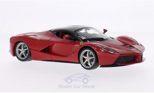 Ferrari LaFerrari 1/24 Bburago La rosso/nero ohne Vitrine modellino in miniatura