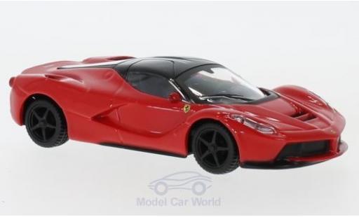Ferrari LaFerrari 1/43 Bburago La rouge/blanche pull-back miniature