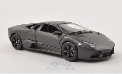 Lamborghini Reventon 1/24 Bburago matt-grey 2007 diecast model cars