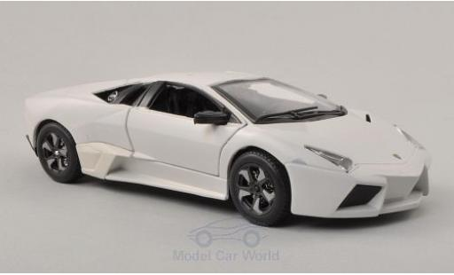 Lamborghini Reventon 1/24 Bburago matt-blanche 2007 miniature