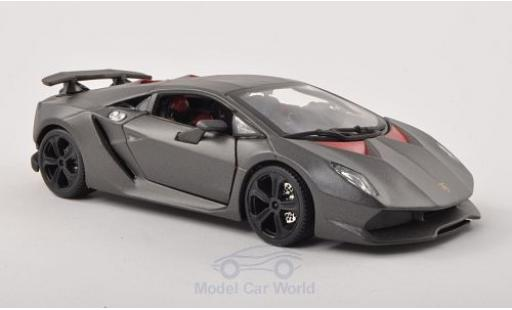 Lamborghini Sesto Elemento 1/24 Bburago matt-grey diecast model cars
