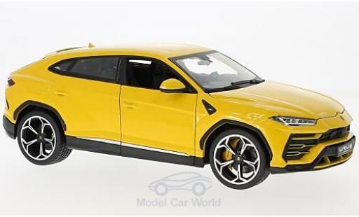 Lamborghini Urus 1/18 Bburago jaune 2018 miniature