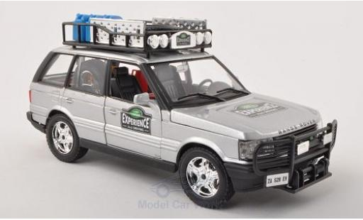 Land Rover Range Rover 1/24 Bburago Safari grise Experience miniature