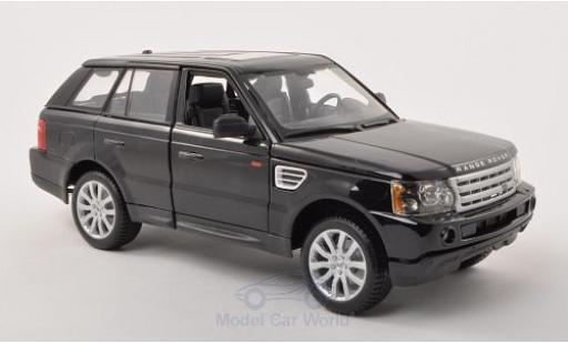 Land Rover Range Rover 1/18 Bburago Sport noire miniature