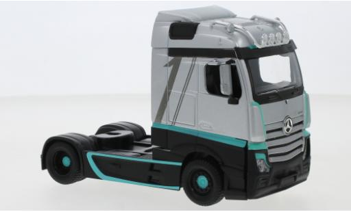 Mercedes Actros 1/43 Bburago Gigaspace Custom grey/Dekor 2020 diecast model cars