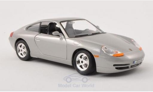 Porsche 996 SC 1/24 Bburago 911  Carrera grey diecast model cars