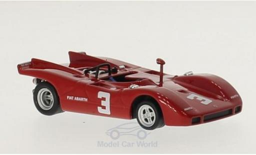 Abarth 2000 1/43 Best SP No.3 Fiat Salzburgring 1970 D.Quester miniature