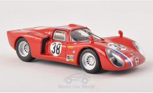 Alfa Romeo 33.2 1968 1/43 Best C No.38 24h Le Mans Testfahrzeug miniature