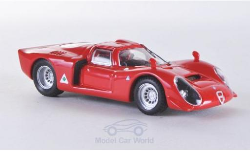 Alfa Romeo 33.2 1/43 Best rouge miniature