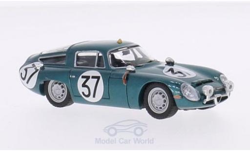 Alfa Romeo TZ1 1/43 Best TZ 1 No.37 24h Le Mans 1964 Testfahrzeug R.Bussinello/G.Biscaldi miniatura
