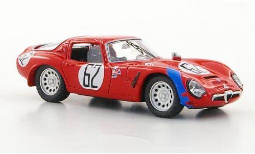 Alfa Romeo TZ2 1/43 Best TZ 2 No.62 Sebring 1966 coche miniatura