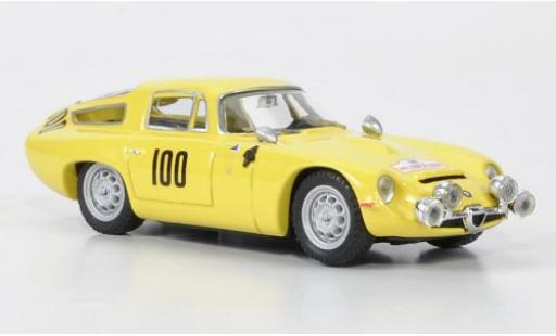 Alfa Romeo TZ1 1/43 Best No.100 Tour de Corse 1963 Masoero/Maurin diecast model cars