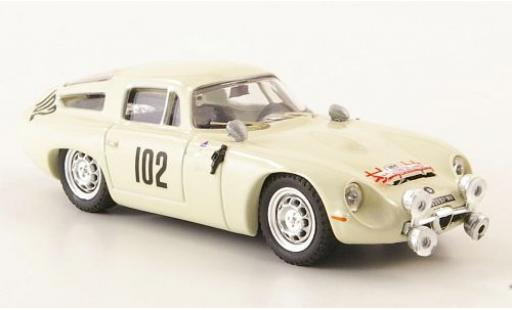 Alfa Romeo TZ1 1/43 Best No.102 Tour de Corse 1964 diecast model cars