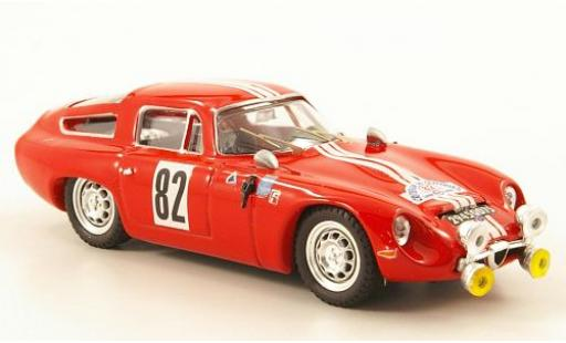 Alfa Romeo TZ1 1/43 Best No.82 Montpellier 1965 diecast model cars