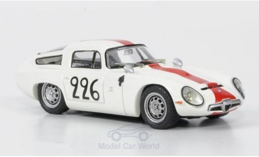 Alfa Romeo TZ1 1/43 Best Ramu / Caccia Mont Ventoux No.226 1964 ohne Vitrine miniatura