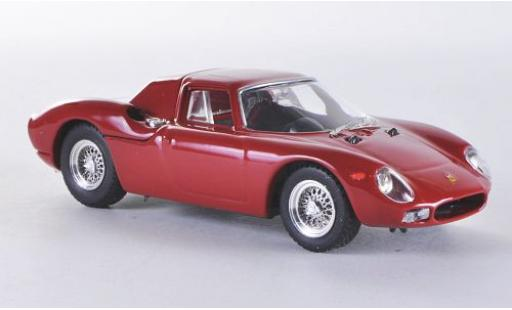 Ferrari 250 1/43 Best LM Long Nose rouge 1964 miniature