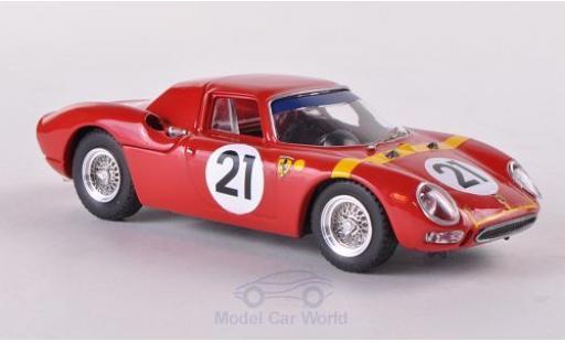 Ferrari 250 1/43 Best LM No.21 Zolder 1964 L.Bianchi miniature