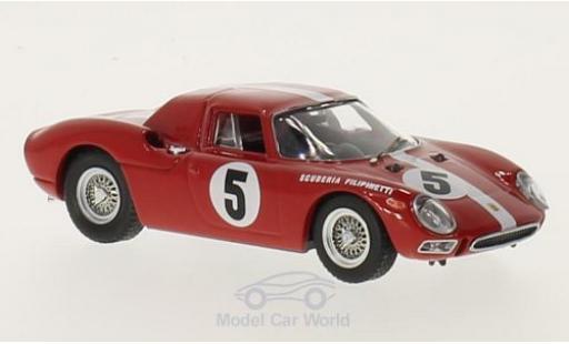 Ferrari 250 1/43 Best LM RHD No.5 Scuderia Filipinetti 1000km Paris 1964 H.Müller/A.Boller miniature