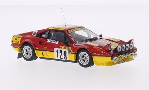 Ferrari 308 1/43 Best GTB Gr.4 No.129 Rally Monte Carlo 1983 D.Gauthier/F.Gauthier miniature