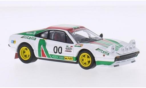 Ferrari 308 1/43 Best GTB Gr.4 Team Makela Auto Tuning Alitalia GP Italien coche miniatura