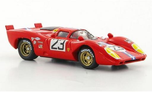 Ferrari 312 1/43 Best P No.23 NART Sebring 1970 miniature