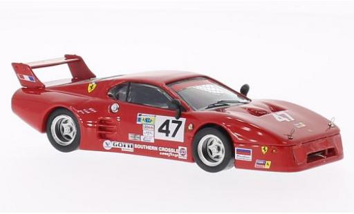 Ferrari 512 1/43 Best BB LM No.47 Tide Racing Daytona 500 1982 A.Davis/B.De Dryver miniature