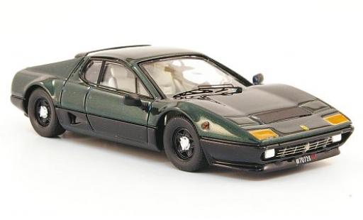 Ferrari 512 1/43 Best BB metallise green/black 1976 diecast model cars