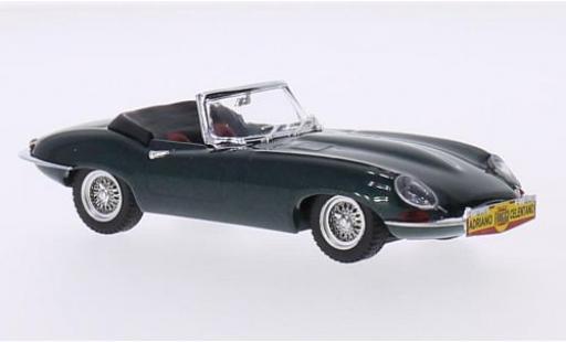 Jaguar E-Type 1/43 Best metallise verde 1962 Adriano Celentano Cantagiro coche miniatura