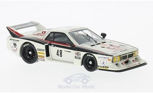 Lancia Beta Silverstone 1/43 Best Montecarlo No.48 6h Silverstone 1982 L.Castellano/E.Crawford miniature