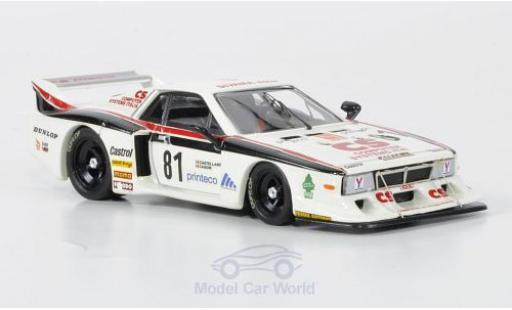 Lancia Beta 1/43 Best Turbo No.81 Vesuvio Racing Monza 1982 Casoni miniature