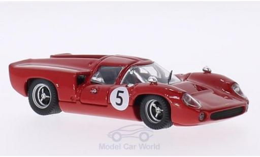 Lola T70 1967 1/43 Best Coupe RHD No.5 GP Schweden Y.Rosqvist miniature