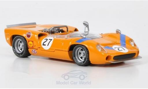 Lola T70 1968 1/43 Best Spider No.27 Fuji 1968 T.Sakai miniature