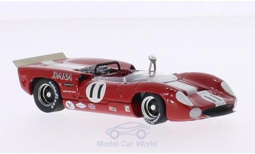 Lola T70 1967 1/43 Best Spyder RHD No.11 Bridgehampton L.Motscheker miniature