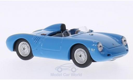 Porsche 550 1957 1/43 Best  hellbleue 1957 miniature