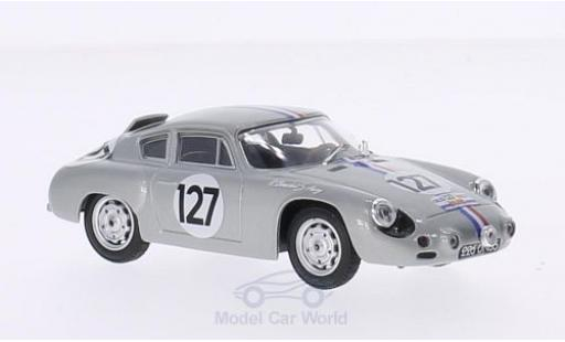 Porsche Abarth 1/43 Best No.127 Tour de France 1961 R.Bouchet/S.Aury modellino in miniatura
