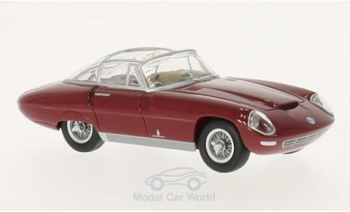 Alfa Romeo 3500 1/43 BoS Models Supersport Pininfarina red RHD 1960 diecast model cars